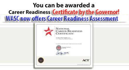 Career Readiness Assessment by the Governor